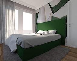 Jasna+sypialniana+z+tapet%C4%85+Wall+%26+Deco+-+zdj%C4%99cie+od+Ewa+Karczewska+Interiors