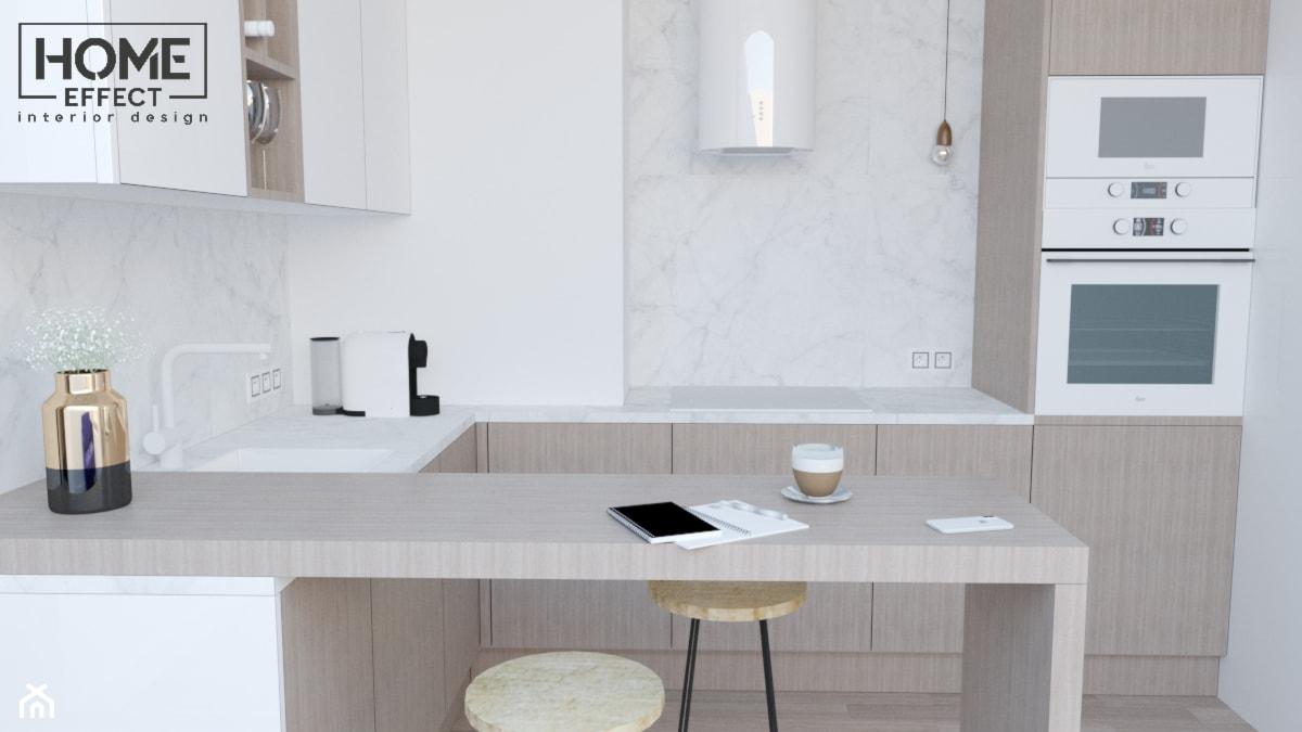 kuchnia w marmurze - zdjęcie od Home Effect - Homebook