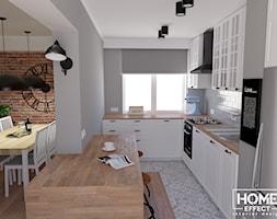 Biała kuchnia w tradycyjnym charakterze - zdjęcie od Home Effect