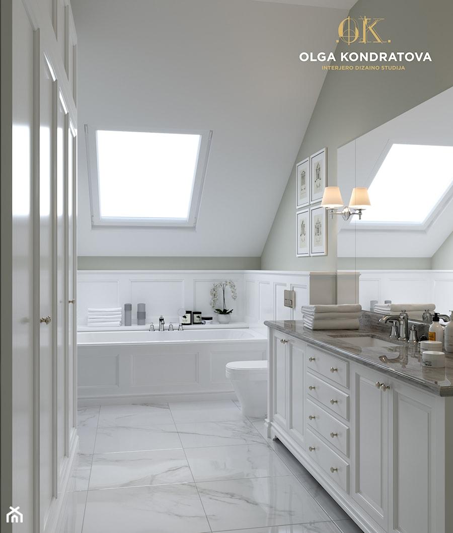 Modern Classic House łazienka Styl Klasyczny Zdjęcie Od