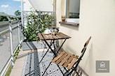 stolik na balkon składany