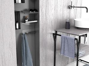 Funkcjonalne meble sposobem na porządek w łazience