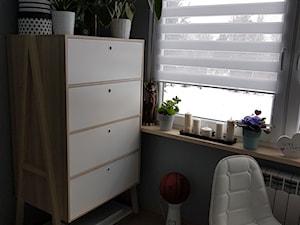 Moja myślodsiewnia :) - Mały szary pokój dziecka dla chłopca dla ucznia dla malucha dla nastolatka - zdjęcie od Natalia Greń 2