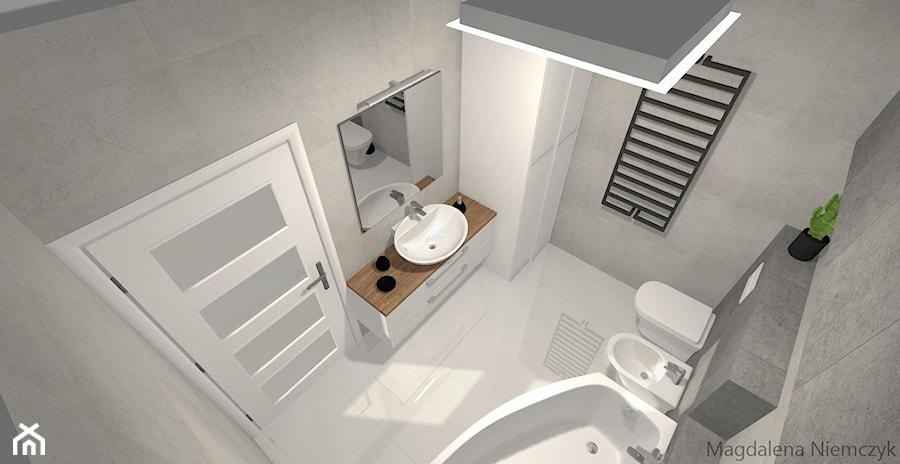 łazienka W Betonie łazienka Styl Nowoczesny Zdjęcie Od