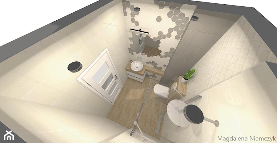Cukrowe Satini łazienka Styl Skandynawski Zdjęcie Od