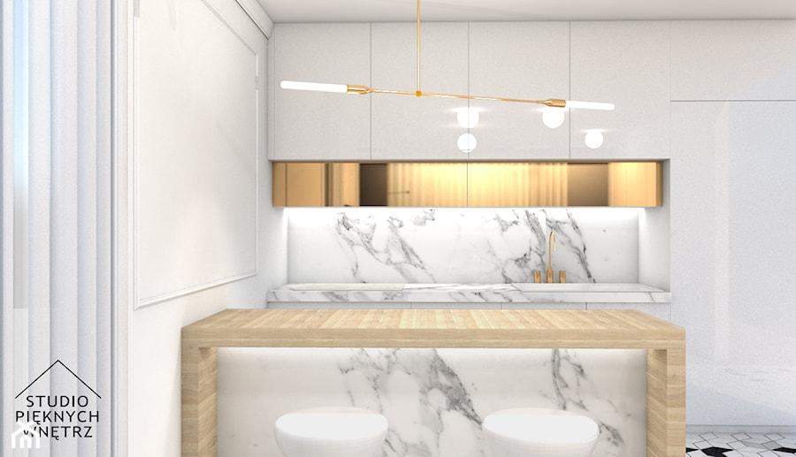 Kuchnia glamour - zdjęcie od studiopieknychwnetrz