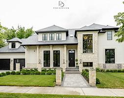 dom w CHICAGO - Domy, styl klasyczny - zdjęcie od PERIHDESIGN - Homebook