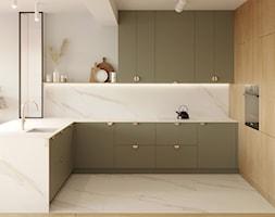 ok. Piaseczna / dom jednorodzinny - Kuchnia, styl nowoczesny - zdjęcie od na miarę mieszkania - Homebook