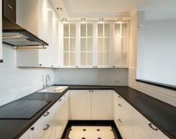 Mieszkanie w klimacie angielskim - Kuchnia, styl tradycyjny - zdjęcie od Monika Hardej Architekt - Homebook