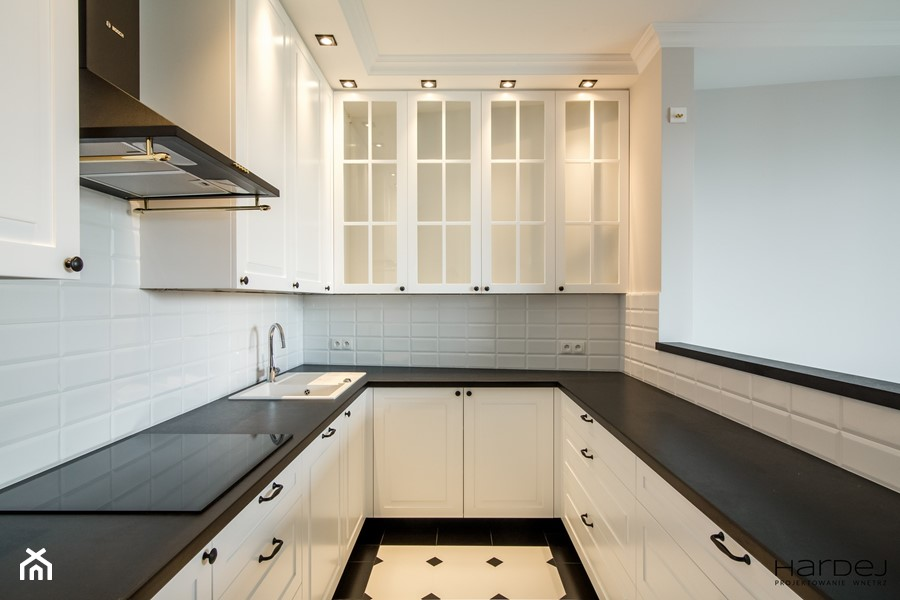 Mieszkanie w klimacie angielskim - Kuchnia, styl tradycyjny - zdjęcie od Monika Hardej Architekt