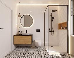 Łazienka gościnna - zdjęcie od Monika Hardej Architekt - Homebook