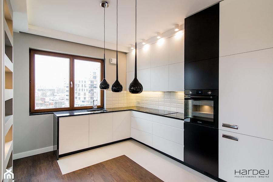 Mieszkanie w minimalistycznym wydaniu - Kuchnia, styl minimalistyczny - zdjęcie od Monika Hardej Architekt