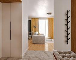 Niewielki hol w skandynawskim klimacie - zdjęcie od Monika Hardej Architekt - Homebook