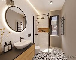 Gościnna łazienka - zdjęcie od Monika Hardej Architekt - Homebook
