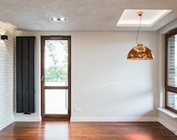 60-metrowe mieszkanie z akcentami loftu - Salon, styl minimalistyczny - zdjęcie od Monika Hardej Architekt - Homebook