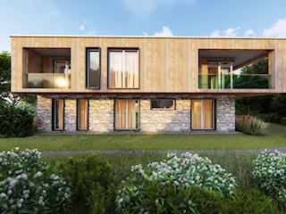 Modernowy góralski dom dla wielkiej rodziny