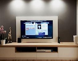 Szafka+pod+telewizor+bia%C5%82a+-+zdj%C4%99cie+od+HOLZOFFICE+Meble