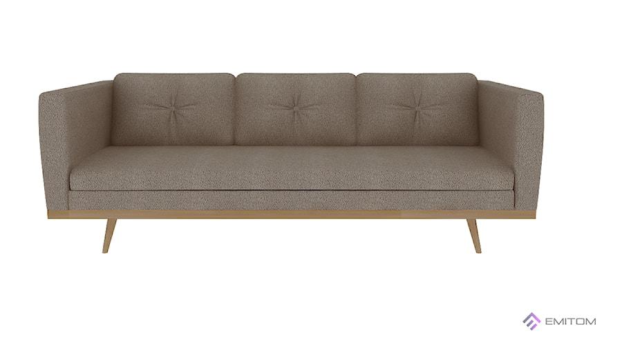 Aranżacje wnętrz - Salon: Kolekcja Elite Wood, sofa trzyosobowa - Emitom_ Meble tapicerowane. Przeglądaj, dodawaj i zapisuj najlepsze zdjęcia, pomysły i inspiracje designerskie. W bazie mamy już prawie milion fotografii!
