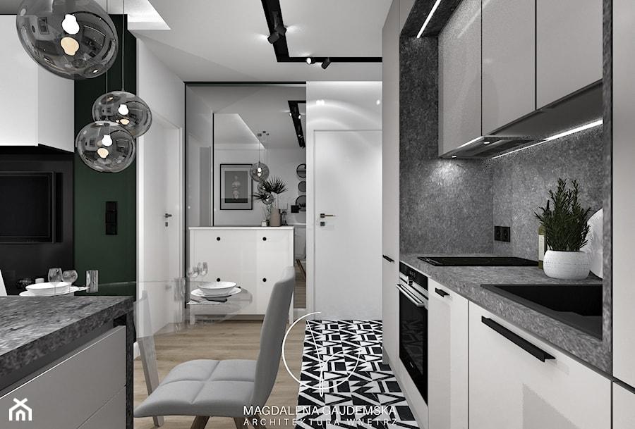 Apartamenty Witolda - Hol / przedpokój, styl nowoczesny - zdjęcie od Magdalena Gajdemska Architektura wnętrz