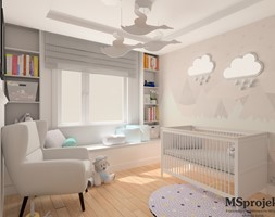 Pastelowy Pokoik Dziecięcy - zdjęcie od MSprojekt