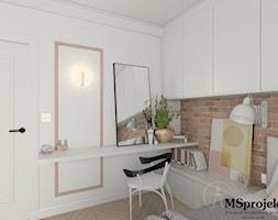 Projekt mieszkania w stylu industrialnym - zdjęcie od MSprojekt - Homebook