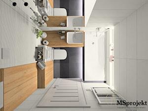 Mikro łazienka w bloku