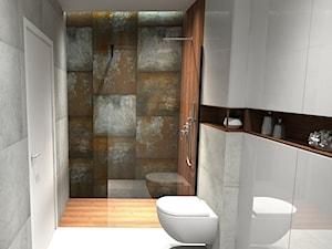 Łazienka w stylu industrialnym - zdjęcie od Łazienkiabc.pl