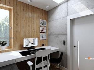 Projekt biura w Legionowie - Biuro, styl nowojorski - zdjęcie od MYSprojekt Marek Myszkowski