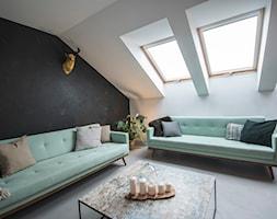 Penthouse 197 - Salon, styl minimalistyczny - zdjęcie od skandynawskieuchwyty - Homebook