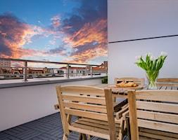 Penthouse 197 - Taras, styl minimalistyczny - zdjęcie od skandynawskieuchwyty - Homebook