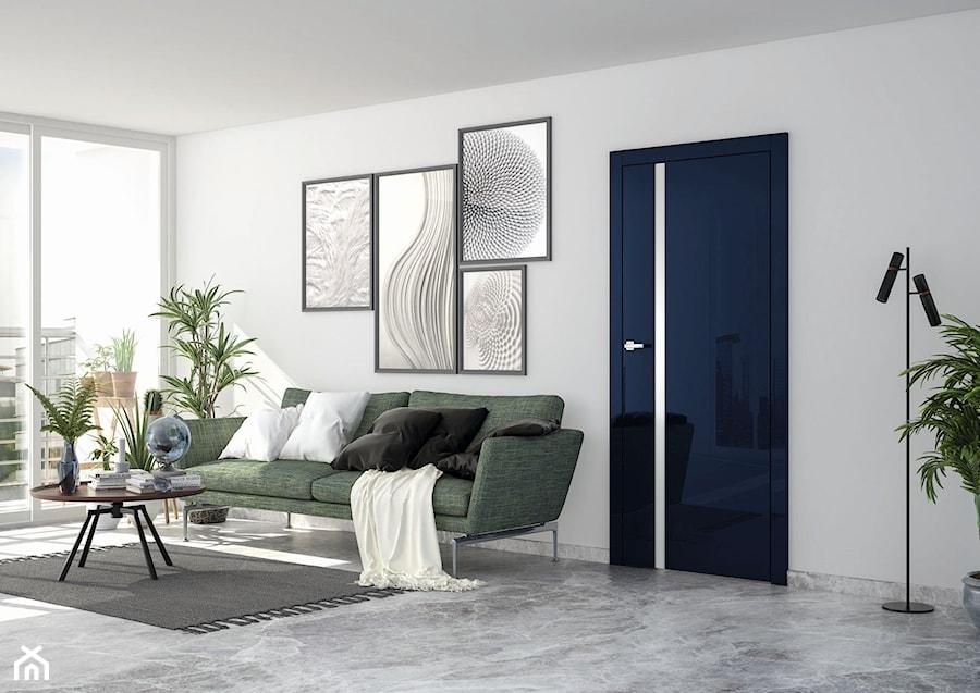 Vetro - Średni biały salon, styl eklektyczny - zdjęcie od DRE