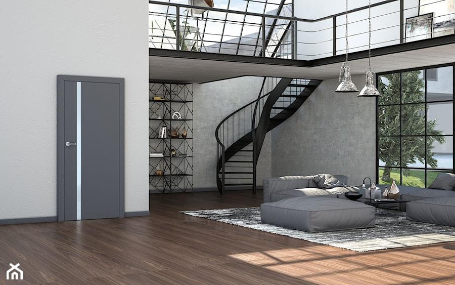 Vetro - Salon, styl industrialny - zdjęcie od DRE