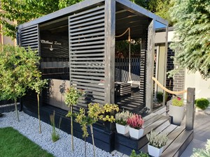 Altana Ogrodowa Chillout Zone - Taras, styl nowoczesny - zdjęcie od sawek