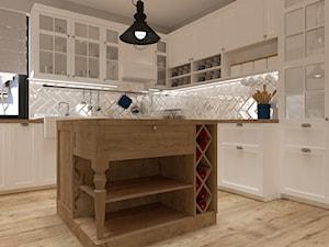 Rustykalna kuchnia - zdjęcie od VANKKA.design Marta Czekańska
