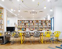 projekt wnętrz biblioteki-mediateki - strefa dla dzieci - zdjęcie od ZW PRACOWNIA PROJEKTOWA - Homebook