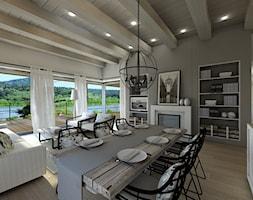 projekt wnętrz w domu nad jeziorem - zdjęcie od ZW PRACOWNIA PROJEKTOWA - Homebook