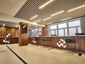 PROJEKT WNĘTRZ BANKU SPÓŁDZIELCZEGO W ŻNINIE - Wnętrza publiczne, styl nowoczesny - zdjęcie od ZW PRACOWNIA PROJEKTOWA