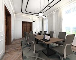 projekt wnętrz banku - sala konferencyjna - zdjęcie od ZW PRACOWNIA PROJEKTOWA - Homebook