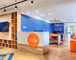 projekt wnętrz biblioteki-mediateki - zdjęcie od ZW PRACOWNIA PROJEKTOWA - Homebook