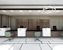 projekt wnętrz banku - sala obsługi klienta - zdjęcie od ZW PRACOWNIA PROJEKTOWA - Homebook