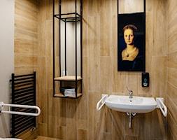 projekt wnętrz biblioteki-mediateki - toaleta - zdjęcie od ZW PRACOWNIA PROJEKTOWA - Homebook