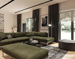 Salon, styl minimalistyczny - zdjęcie od Sublime studio - Homebook