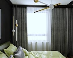 Mieszkanie dla dojrzałej pary w Siedlcach - Sypialnia, styl glamour - zdjęcie od DESIGNYOURHOME - Homebook