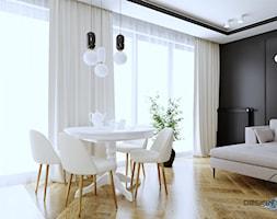 Mieszkanie dla dojrzałej pary w Siedlcach - Salon, styl nowoczesny - zdjęcie od DESIGNYOURHOME - Homebook
