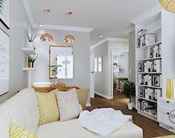 Warszawa mieszkanie 66 m2 na Grochowie - Salon, styl rustykalny - zdjęcie od DESIGNYOURHOME - Homebook