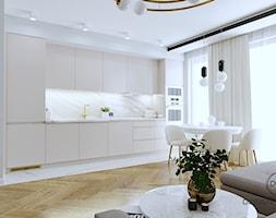 Mieszkanie dla dojrzałej pary w Siedlcach - Kuchnia, styl nowoczesny - zdjęcie od DESIGNYOURHOME - Homebook