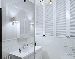 Warszawa mieszkanie 66 m2 na Grochowie - Łazienka, styl rustykalny - zdjęcie od DESIGNYOURHOME - Homebook