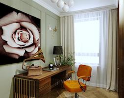 Mieszkanie dla dojrzałej pary w Siedlcach - Biuro, styl art deco - zdjęcie od DESIGNYOURHOME - Homebook