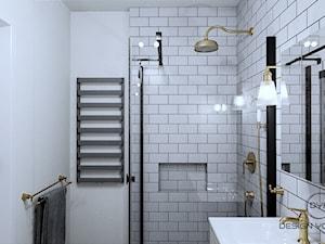 Łazienka w stylu Art Deco