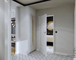 Mieszkanie dla dojrzałej pary w Siedlcach - Hol / przedpokój, styl glamour - zdjęcie od DESIGNYOURHOME - Homebook